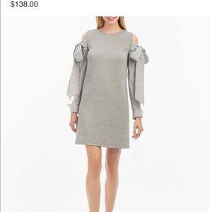Nicole miller New York tied sweatshirt dress